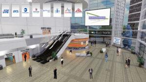 virtual experience platform mimicking the colorado convention center venue in denver