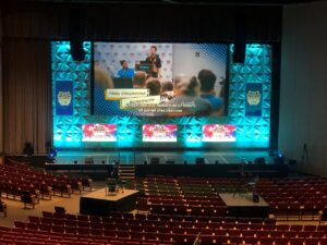 A large live event held at the Colorado Convention Center